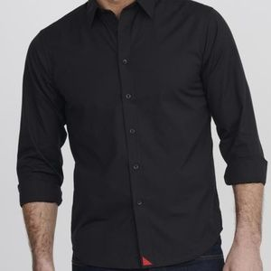 UnTuckit Small Carter with Red style black button